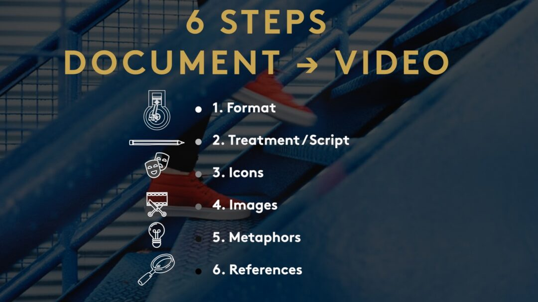 thumbnail: video on how to convert document to video
